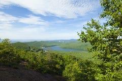 Grüne Hügel Lizenzfreies Stockfoto