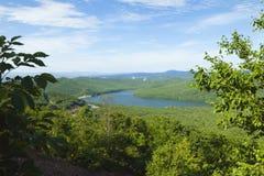 Grüne Hügel Stockbild