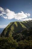 Grüne Hügel Azoren-Sao Miguel Portugal lizenzfreies stockbild