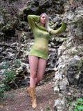 Grüne Haltung Stockbilder