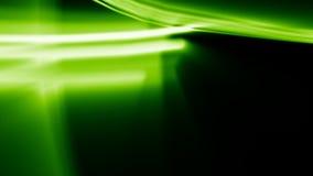 Grüne heller Streifen-Strahlen stock abbildung