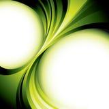 Grüne Hintergrundauslegung Lizenzfreies Stockfoto
