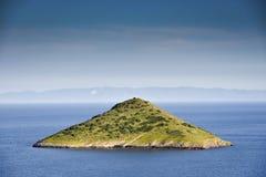 Grüne Insel Stockfoto