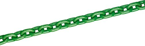 Grüne Kette Stockfoto