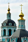 Grüne Kirche Lizenzfreie Stockfotos