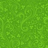 Grüne Kleehintergründe Lizenzfreies Stockbild