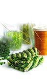 Grüne Korne Lizenzfreie Stockbilder