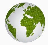 Grüne Kugel Lizenzfreie Stockfotografie