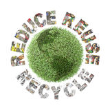 Grüne Kugelbewahrung Stockfotos