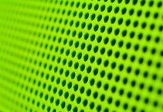 Grüne Löcher Stockfoto