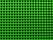 Grüne Löcher Lizenzfreies Stockfoto