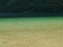 Grüne Lagune Stockfotos