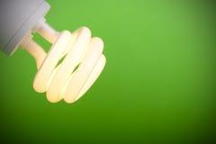Grüne Leuchte Stockfotografie