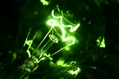 Grüne Leuchte Lizenzfreies Stockfoto