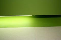 Grüne Leuchte lizenzfreie stockfotografie