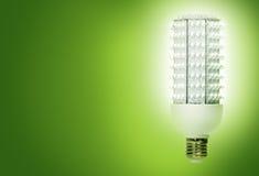 Grüne Leuchten Lizenzfreies Stockbild