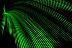 Grüne Lichtwelle lizenzfreie stockfotos