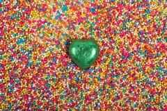 Grüne Liebe lizenzfreie stockbilder