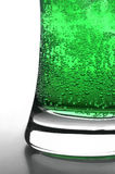 Grüne Luftblasen Lizenzfreie Stockfotos