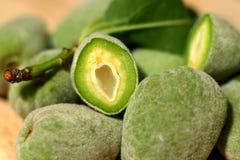 Grüne Mandeln lizenzfreie stockfotografie