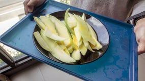 Grüne Mango Stockfoto