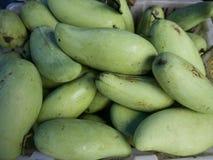 Grüne Mango Lizenzfreies Stockfoto