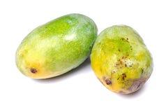Grüne Mangofrüchte Lizenzfreies Stockfoto