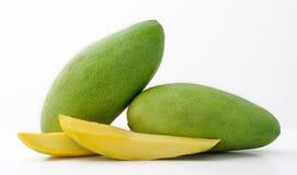 Grüne Mangofrüchte Stockfoto