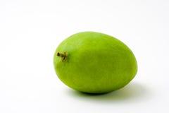 Grüne Mangofrucht vollständig Lizenzfreies Stockfoto
