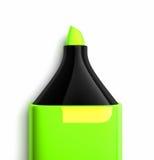 Grüne Markierung stock abbildung