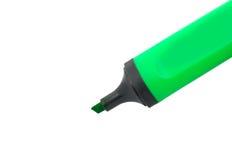 Grüne Markierung Lizenzfreie Stockfotos