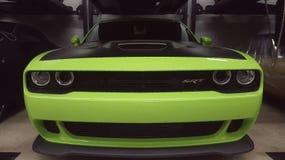 Grüne Maschine Lizenzfreie Stockbilder