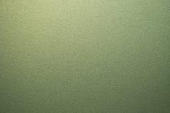 Grüne Mattglasbeschaffenheit als Hintergrund Stockbild