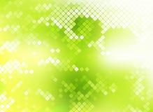 Grüne Nachtklubpartei-Hintergrundzusammenfassung Stockfotografie