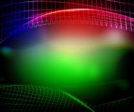 Grüne Nettozusammenfassung Lizenzfreie Stockbilder