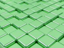 grüne Oberflächen. Stockfoto