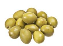 Grüne Olive stockfoto