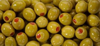 Grüne Olive Lizenzfreie Stockbilder