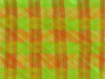 Grüne Orange des gewebten Materials Stockfotografie