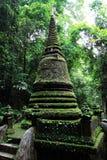Grüne Pagode in Thailand Stockbilder