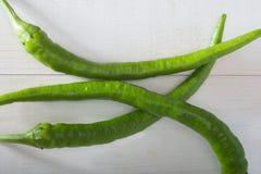 Grüne Pfeffer Lizenzfreies Stockbild