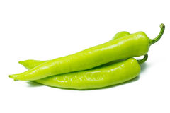 Grüne Pfeffer lizenzfreie stockfotos
