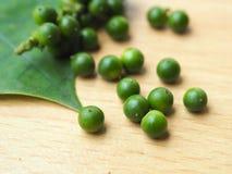 Grüne Pfeffer Stockbild