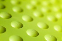 Grüne Plastikoberfläche Stockbild