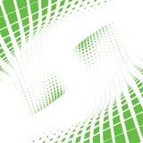 Grüne Punkte der Welle Lizenzfreie Stockfotos