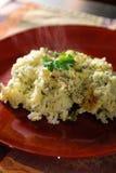 Grüne Reis-Kasserolle Lizenzfreie Stockbilder