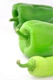 Grüne süße Pfeffer Stockfoto