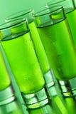Grüne Schüsse stockfotografie
