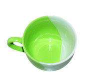 Grüne Schale Stockfotos