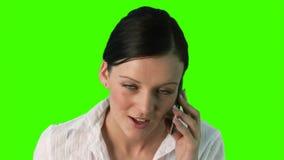 Grüne Schirm-Geschäfts-Konzepte stock footage